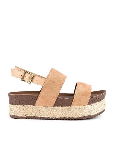 Muya Parisa Anatomik Kadın Sandalet Bej